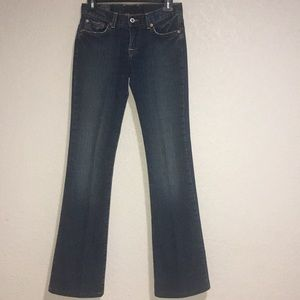 Lucky brand sweet Apache jeans bootcut size 0/25
